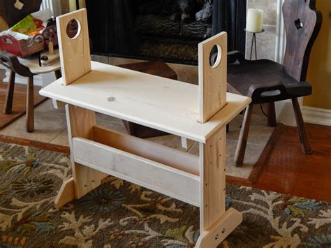 Loom bench woodworking plans Image
