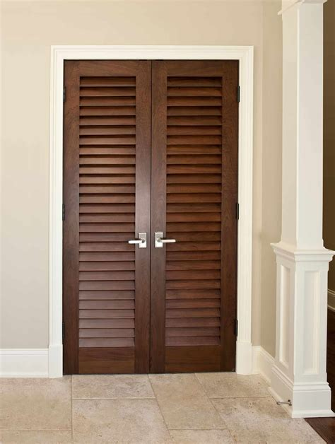Louvered doors Image