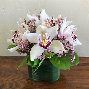Lovely orchids step by step