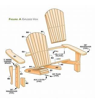 Loveseat Adirondack Chair Plans