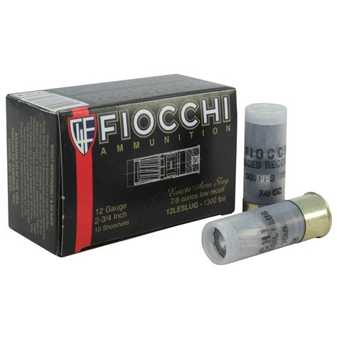 Low Recoil 12 Gauge Shotgun Shells Buckshot