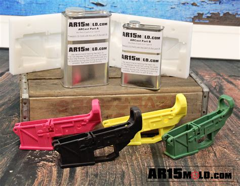 Lower Receiver Steel Mold