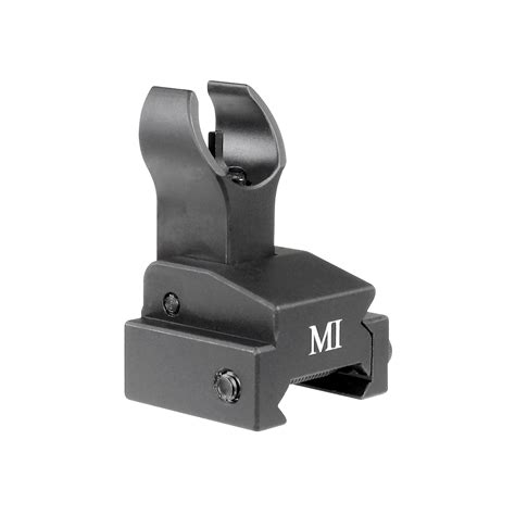 Lowprice Ar15 Flipup Forearm Rail Front Sight Midwest