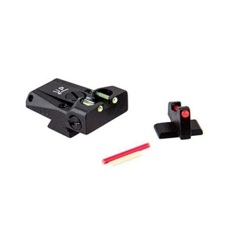 Lpa Sights Browning Adjustable Sight Set Browning Hipower Fiber Optic Adjustable Sight Set