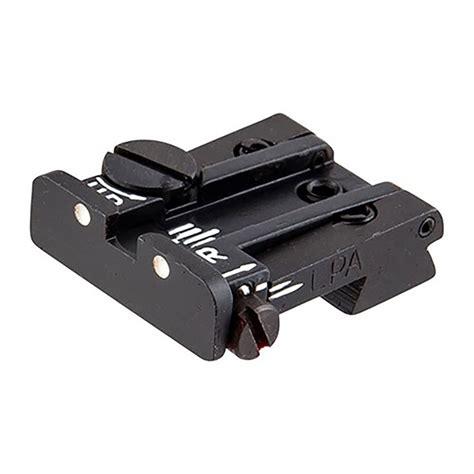Lpa Sights Colt Adjustable Rear Sight Colt 708090 Adj Rear Sight