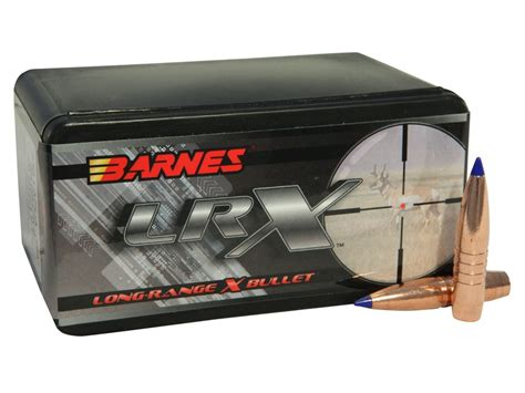 LRX Long Range Hunting - Barnes - Bullets - Components