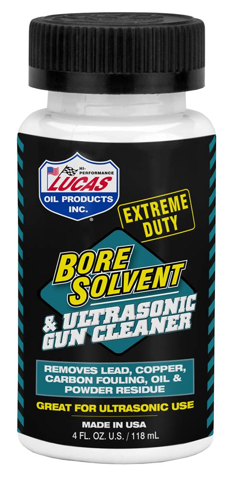 Lucas Oil Extreme Duty Bore Solvent 4 Ounce 10907