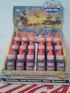 Lucas Oil Products Gun Oil Gun Oil 18 Pack Wdisplay Case