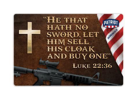 Luke 22 36 Self Defense