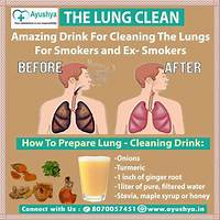 Cash back for lung detoxification clean your lungs and quit smoking