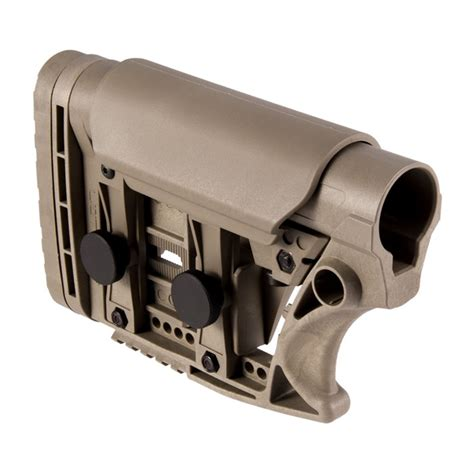 Luthar Ar15 Stock Assembly Collapsible Carbine Length Ar15 Stock Assembly Adjustable Carbine Length Fde