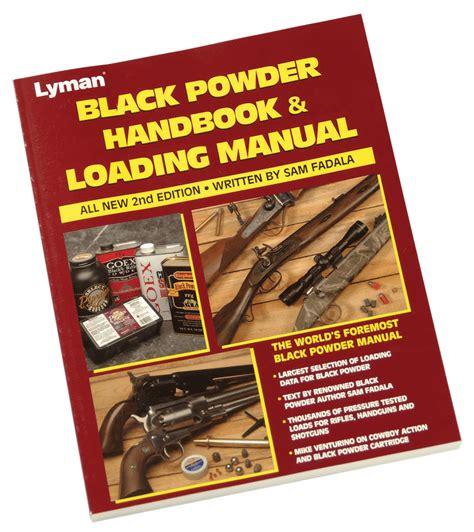 Lyman Black Powder Handbook Reloading Manual 2nd Edition
