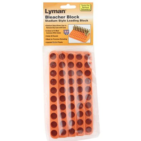Lyman Bleacher Loading Blocks Small Pistol Bleacher Loading Block