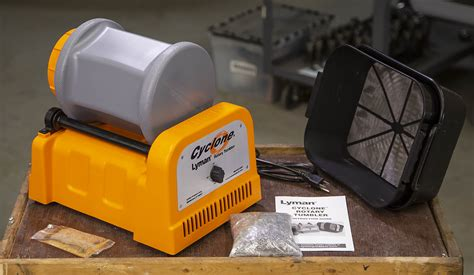 Lyman Cyclone Stainless Steel Rotary Case Tumbler From