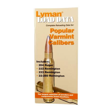 Lyman Load Dataauto Pistol Calibers Brownells Polska