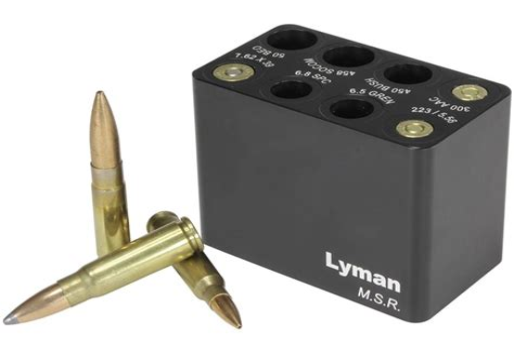Lyman Msr Aluminum Ammo Checker Msr Ammo Checker Multiple Calibers