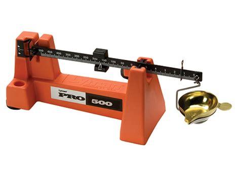 Lyman Pro500 Powder Scale Vs Rcbs 505 Powder Scale