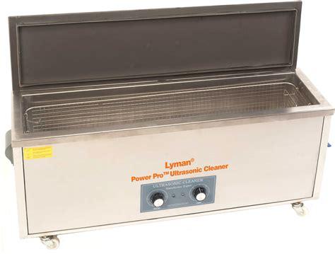 Lyman Turbo Sonic Power Professional Ultrasonic Cleaner Power Professional Turbo Sonic Cleaner