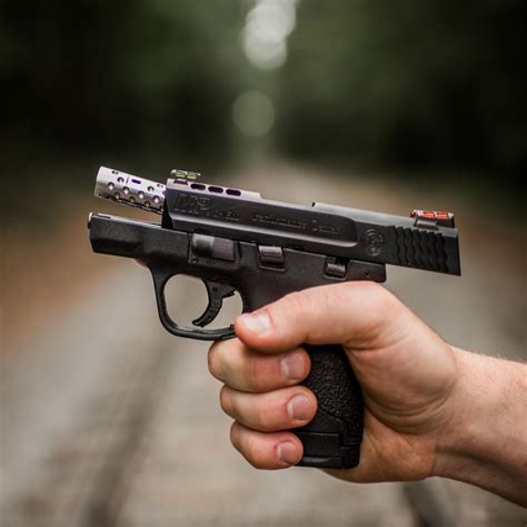 M P Shield 9mm Ported Barrel