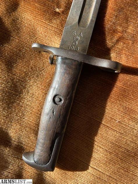 M1 Bayonet Springfield Armory 1918