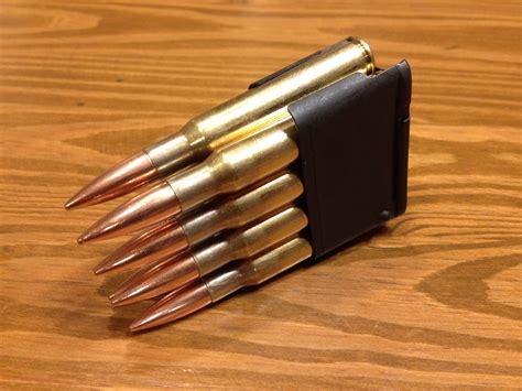 M1 Garand Ammo In Bolt Action