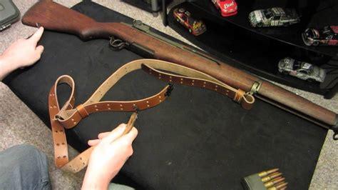 M1 Garand Leather Sling Installation