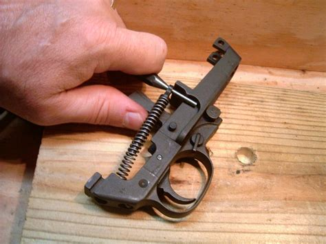 M1 Garand Trigger Assembly Rubbing On Side Of Housing