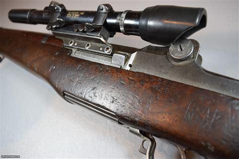 M1 Garand With A Scope
