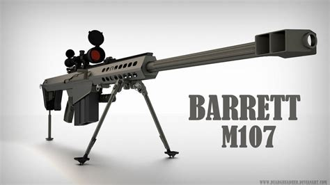 M107 Barrett Antimaterial Sniper Rifle