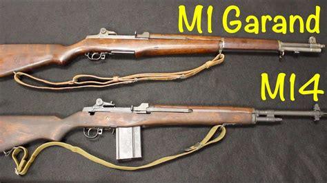 M14 Vs M1 Garand Rifle