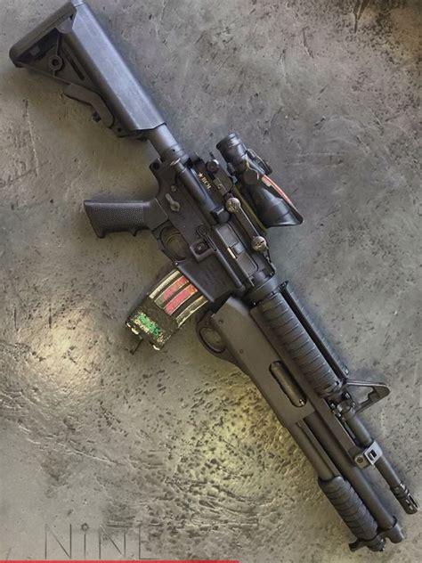 M16 Under Barrel Shotgun