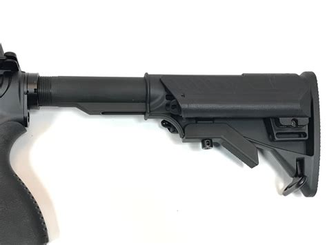 M16 With Collapsible Buttstock