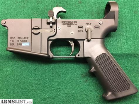 M16a1 Lower Receiver For Sale