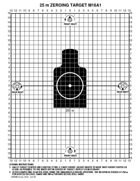 M16a1 Targets And Nj Legal M16a1