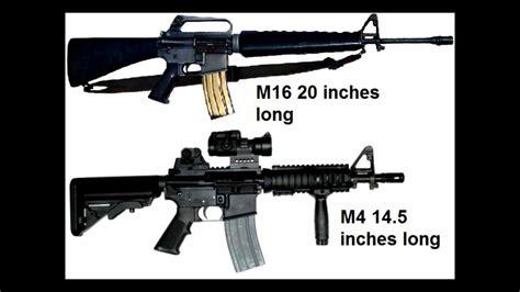 M16a4 Vs M4 Carbine
