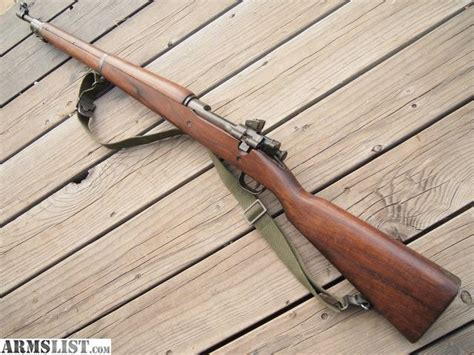 M1903a3 Rifle Smith Corona Dent On Barrel