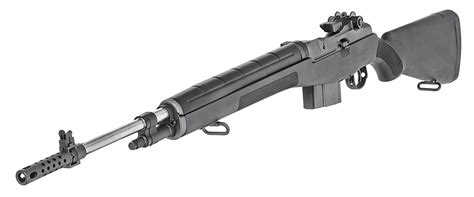 M1a Loaded 22in 308 Win Ss Black Synthetic Aperture Sights