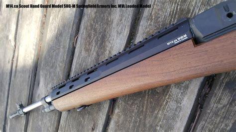 M1a Wood Upper Handguard
