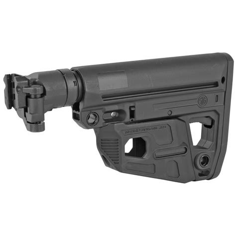 M4 Style Stock Mcx Mpx Sig Sauer