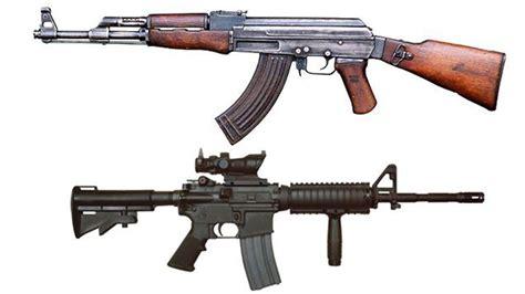 M4 Vs Ak 47