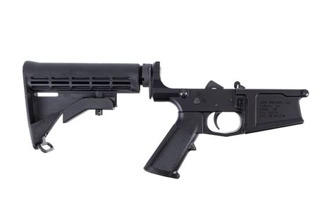 M5 308 Complete Lower Receiver Standard Anodized Black