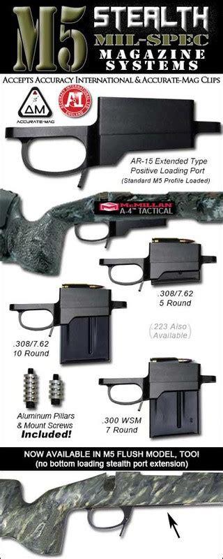 M5 Stealth Dm M24 Detachable Magazine System Stocky S Stocks