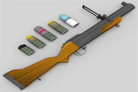 M79 Thumper Gun Shotgun Shell