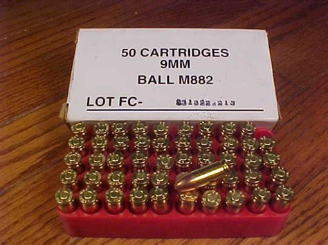 M882 9mm Ball Ammo For Sale