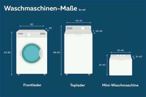 Maße Waschmaschine