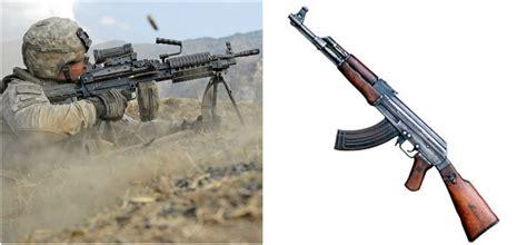 Machine Gun Vs Assault Rifle