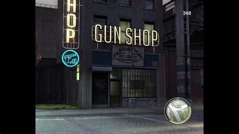 Gun-Store Mafia 2 Robbing Gun Store.