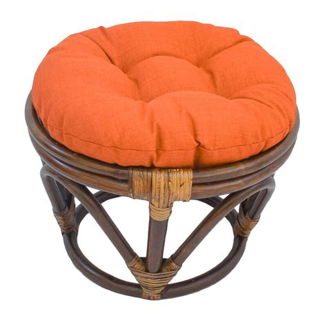 Magana Outdoor Ottoman with Cushion