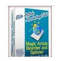 Magic article rewriter and magic article submitter step by step