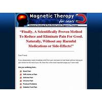 Coupon code for magnetic therapy for idiots crazy high conversions!